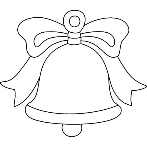Шаблоны колокольчика для вырезания из бумаги распечатать