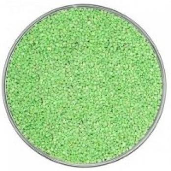 Песок зеленый